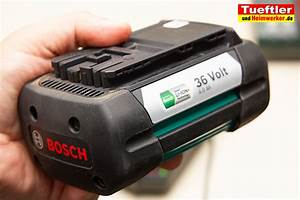 Bosch Akku Rasentrimmer 36v : bosch 36v 4ah akku tueftler und ~ Watch28wear.com Haus und Dekorationen