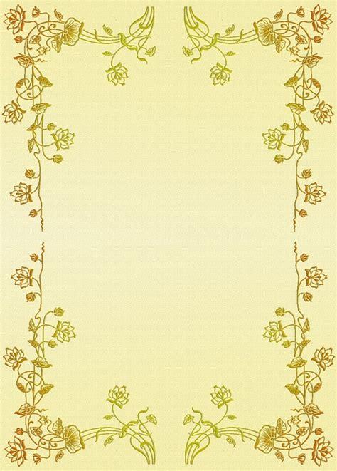 kostenlose illustration floral motiv briefpapier