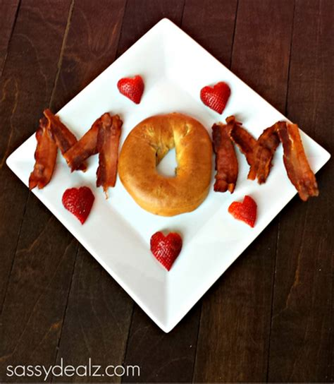 simple breakfast in bed ideas cute mother s day breakfast idea crafty morning
