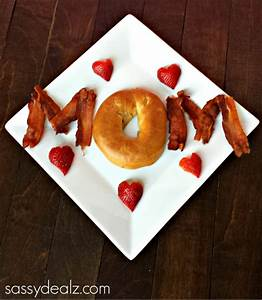 Cute Mother's Day Breakfast Idea - Crafty Morning