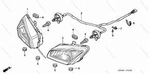 Honda Atv 2006 Oem Parts Diagram For Headlight