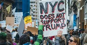 New Yorkers Plan to 'Drown Out' Trump with Protest During ...