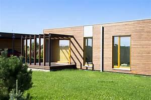 Maison Pop House : une maison z ro nergie construite en 15 jours ~ Melissatoandfro.com Idées de Décoration