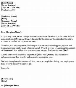 notice of layoff letter template useful letters templates With layoff letter template free