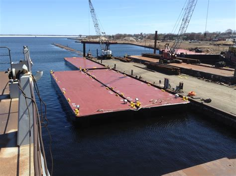 cesam flat deck barge gt philadelphia district gt fact sheet article view