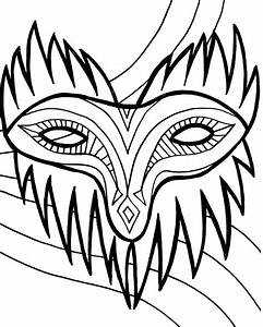 Free Printable Mardi Gras Coloring Pages For Kids