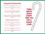 FREE Candy Cane Christmas Poem
