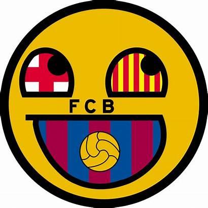 Barcelona Fc Clipart Barca Smiley V1 Deviantart