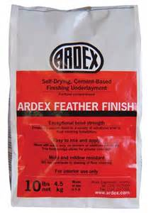 ardex feather finish 4 pack unit floor prep cement based underlayment
