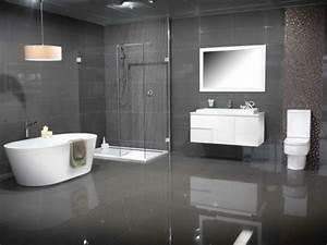 Schwarze Möbel Welche Wandfarbe : badezimmer schwarze fliesen ~ Bigdaddyawards.com Haus und Dekorationen
