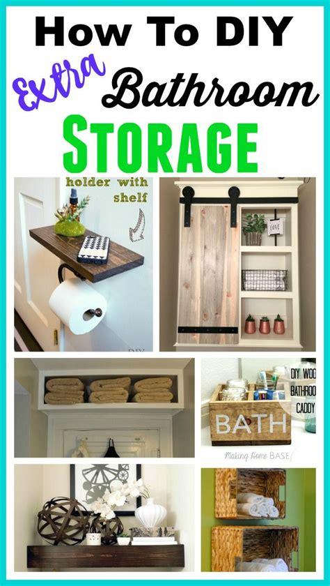 bathroom organization ideas space saving diy bathroom storage ideas times diy