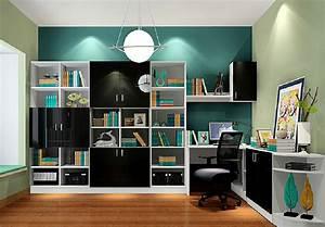 Minimalist interior design study room