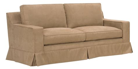 down filled slipcovered sofa slipcover sleeper sofa with down filled couch cushions