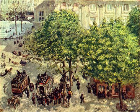 Comptoir Français Du Thé by Camille Pissarro Place Du Th 233 226 Tre Fran 231 Ais En