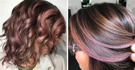el chocolate malva es la nueva tendencia de cabello
