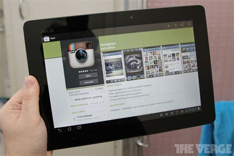 instagram  android update adds tablet  wi fi device