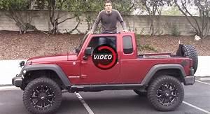 Jeep Wrangler Pick Up : is an aftermarket jeep wrangler pickup any good ~ Medecine-chirurgie-esthetiques.com Avis de Voitures