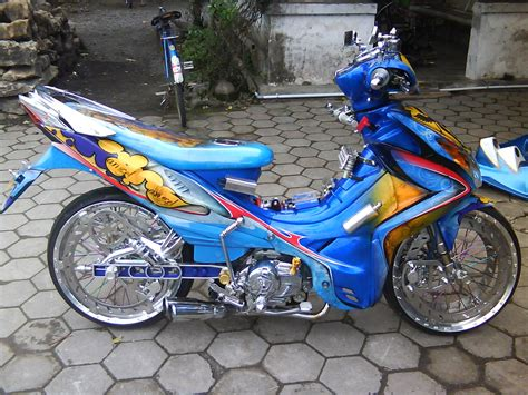 Modifikasi Yamaha Jupiter Z by 15 Foto Modifikasi Motor Yamaha Jupiter Z