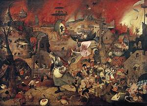 Dull Gret Painting by Pieter the Elder Bruegel