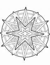 Coloring Cool Pages Designs Printable Christmas Adult Mandala Pattern Sheets Ornaments Elementary Geometric Puzzles Colouring Adults Games Hidden Children Tree sketch template
