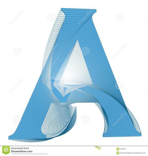 Letter A Design  Formal Letter Template