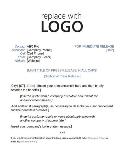 press release template  commercewordpress