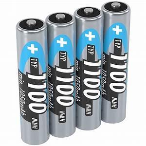 Aaa Batterien Kapazität : ansmann nimh micro aaa akku typ 1100mah ~ Markanthonyermac.com Haus und Dekorationen