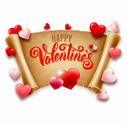 Valentines Happy Clipart Heart Background Searchpng