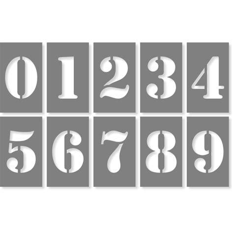 numbers stencil pack holmes custom