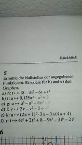 Nullstellen Berechnen Polynomdivision : nullstellen von funktion 6 grades mathelounge ~ Themetempest.com Abrechnung