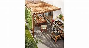 Cout D Une Pergola : le co t d une pergola en bois ~ Premium-room.com Idées de Décoration