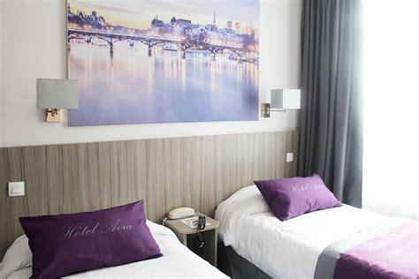 chambre lit jumeau hôtel avia saphir montparnasse nos chambres site