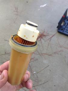 Brown Particles In A Fuel Filter