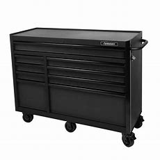 Husky 52 In 9drawer Tool Cabinet, Textured Blackh52tr9
