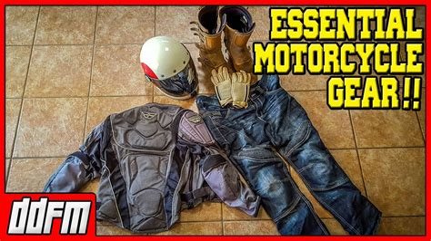 5 Motorcycle Protective Gear Items You Need To Wear