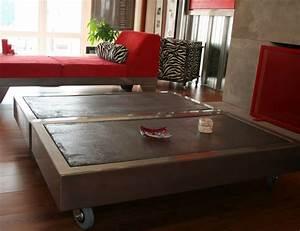 Table Tres Basse : table tres basse table basse roulettes id e pour la maison ~ Teatrodelosmanantiales.com Idées de Décoration