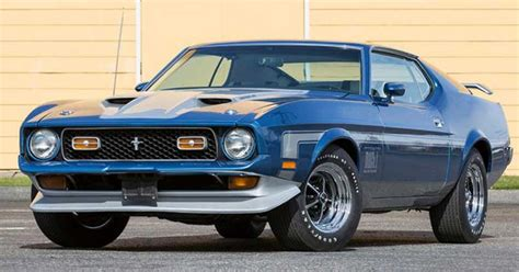 6 rare american muscle cars that any man would love to own