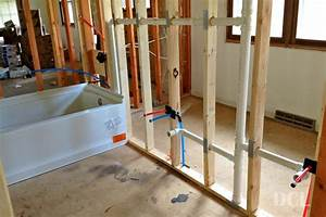 Rough in bathroom plumbing lovely on floor with bathroom for Roughing in plumbing for bathroom
