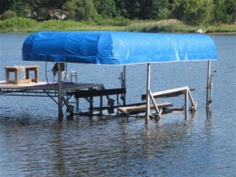 Harbor Master Boat Lift by Harbor Master Lift Replacement Canopy Covers Shelter Rite