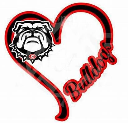 Georgia Bulldog Bulldogs Uga Ga Drawing Clipart