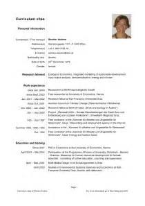 curriculum vitae pdf download da compilare modelo de curriculum vitae pdf modelo de curriculum