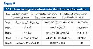 know your arc dc arc flash calculations ec mag With arc flash definition