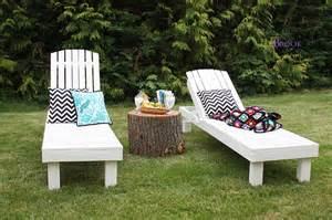 white 35 wood chaise lounges diy projects