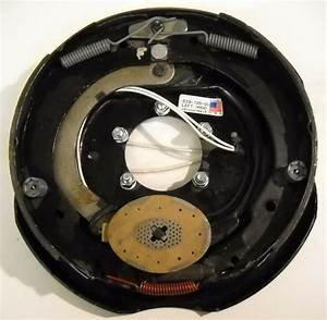12 U0026quot  Genuine Dexter Trailer Electric Backing Plate Brake