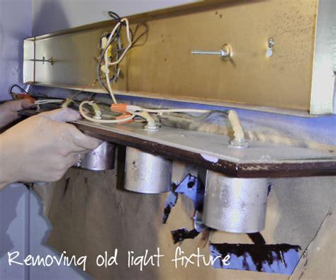 Remove Bathroom Light Fixture  How To Remove Bathroom