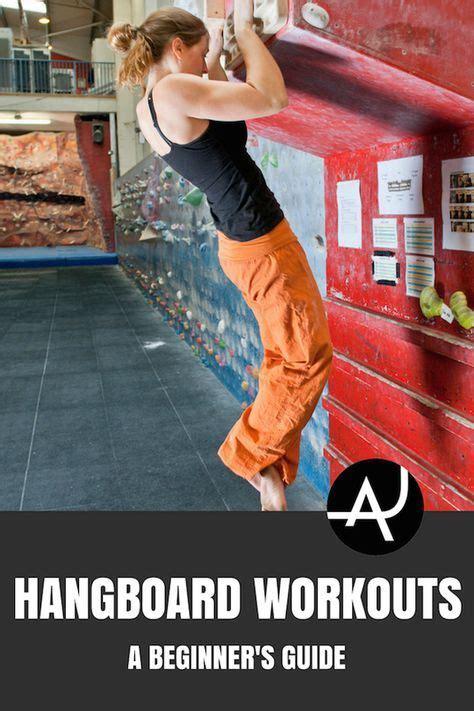 Beginners Guide Hangboard Workouts Climbing Rock