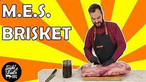 How To Smoke A Large Brisket In The Masterbuilt Electric