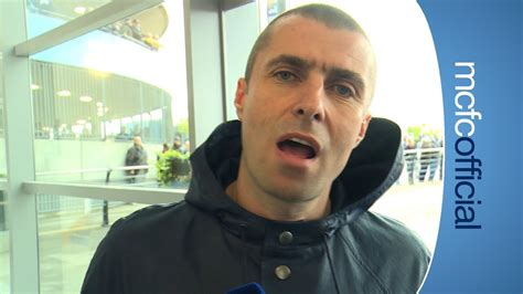 LIAM GALLAGHER EXCLUSIVE | City v West Ham - YouTube