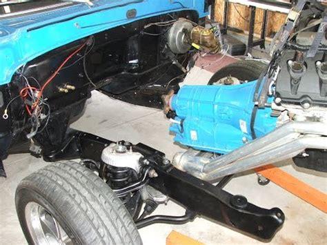 coyote engine swap  build