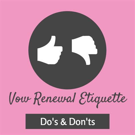 vow renewal etiquette i do take two